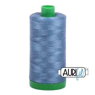 Aurifil 40 Cotton Thread - 1126 (Grey Blue)